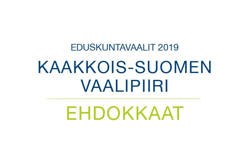 Ehdokkaat Kaakkois-Suomen vaalipiiri