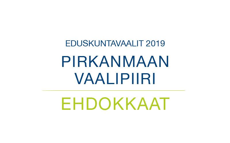 Ehdokkaat Pirkanmaan vaalipiiri